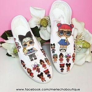 NEW kids girls LOL dolls tennis shoes